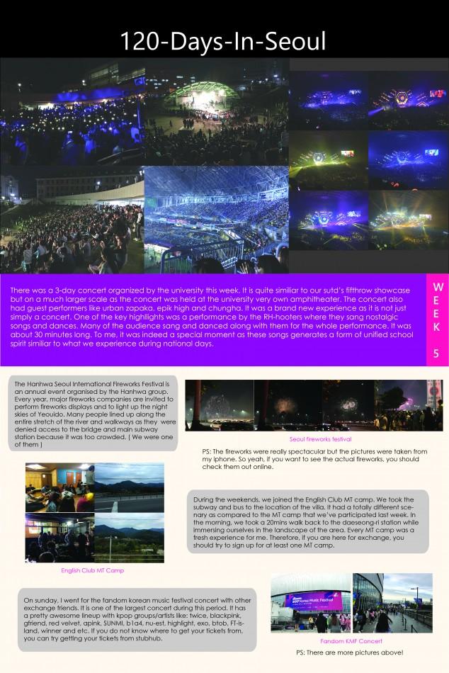 120-Days-In-Seoul (WEEK 5) - SUTD