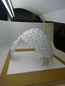 Side view of Tall Prototype