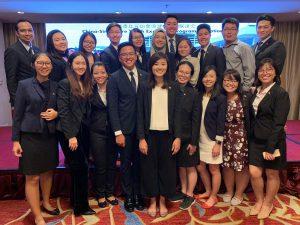 Singaporean Delegates from SFYLEP 2019